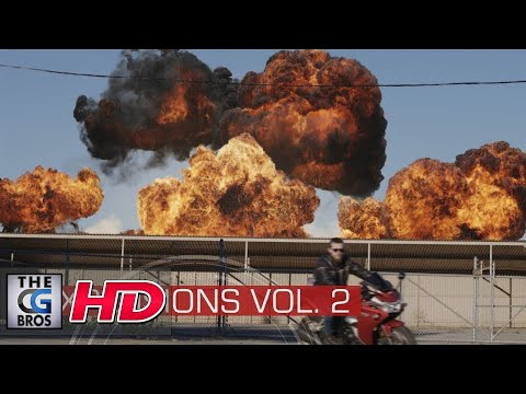 "CGI & VFX Tech Demos:  ""Explosions Volume II""  - by ActionVFX"