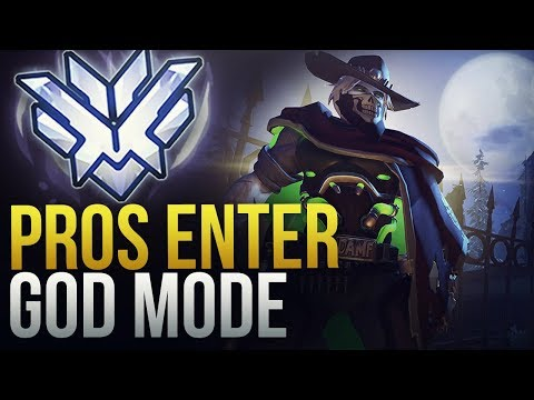 WHEN PROS ENTER GOD MODE - Overwatch Montage