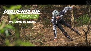 Best of OFF-ROAD inline skating - Powerslide compilation