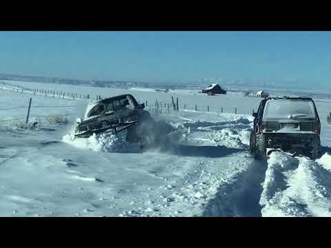 Snow Wheeling Billings, MT New Years Day 2018
