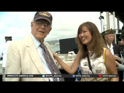 Japanese tourists, Hawaiian locals view of Abe's Pearl Harbor visit