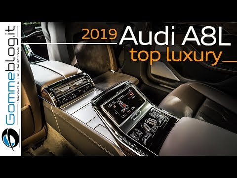 2019 Audi A8 L - TOP Luxury Sedan - INTERIOR and EXTERIOR