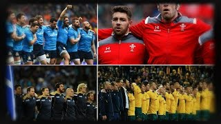 Rugby - NewTop 10 of the Best National Anthem 2018 !