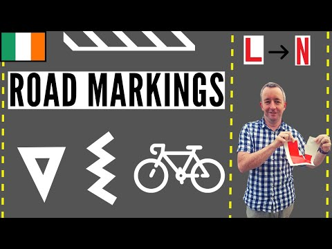 Driving Tips on Road Markings