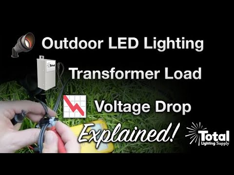 Outdoor Led Lighting Transformer Load
