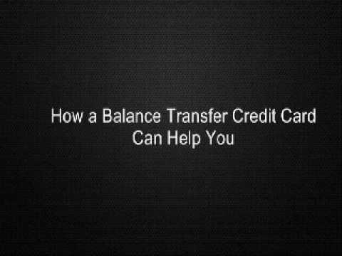 How a Balance Transfer Credit Card Can Help You
