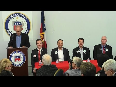 Georgia GOP Chairman Candidate Forum with Scott Slade at Cobb County GOP 05/06/17
