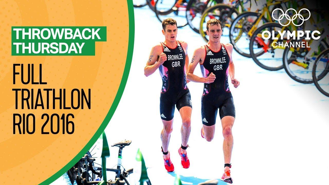 Download FULL Men's Triathlon - Rio 2016 Replay   Throwback Thursday