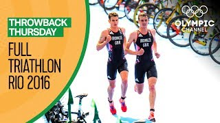 FULL Men's Triathlon - Rio 2016 Replay | Throwback Thursday