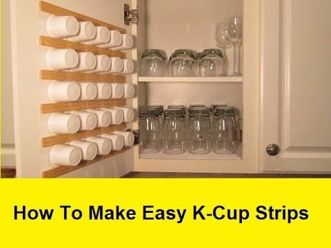 Etonnant How To Make Super Easy, Space Saving Keurig Cup Storage