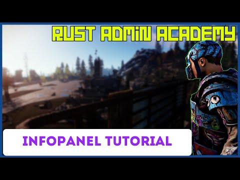 Rust Info Panel Plugin By Umod Rust Admin Academy Tutorial