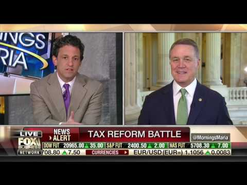 Senator David Perdue Speaks On Fox Business Channel