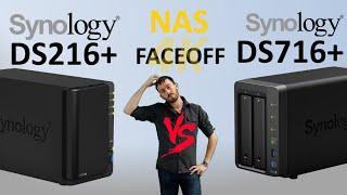 The Synology DS716+ vs The Synology DS216+ - 2 Bay Synology 2016 NAS Comparison
