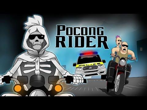 Pocong Rider - Funny Cartoon Racing