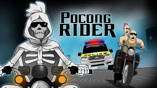 Pocong Rider - Funny Cartoon Racing