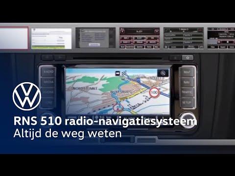 Volkswagen RNS 510  radio-navigatiesysteem