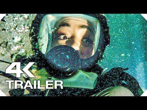 СИНЯЯ БЕЗДНА 2 Русский Трейлер #1 (4K ULTRA HD) НОВЫЙ 2019 Акула Фильм Ужасов HD