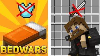 БЕДВАРС БЕЗ УЛУЧШЕНИЙ ОРУЖИЯ И БРОНИ - Minecraft Bed Wars ЧЕЛЛЕНЖ