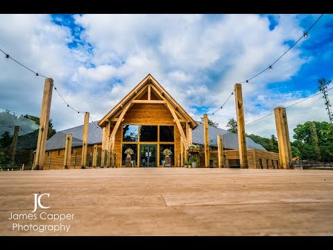 Mill Barns Wedding Venue by photographer and videographer James Capper