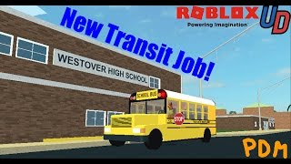 PDM Roblox   New Transit Job and Golf Carts?   Ultimate Driving: Westover