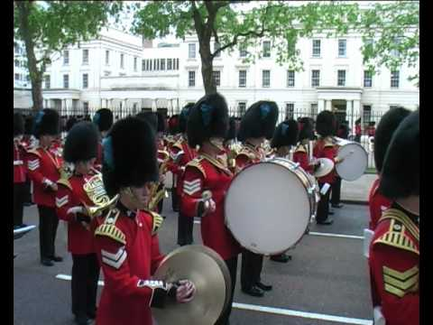 Massed Guards Bands - London - May 2010