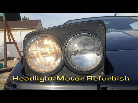 Lotus Esprit Headlight Motor Repair