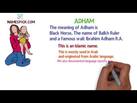 The Meaning Of Adham