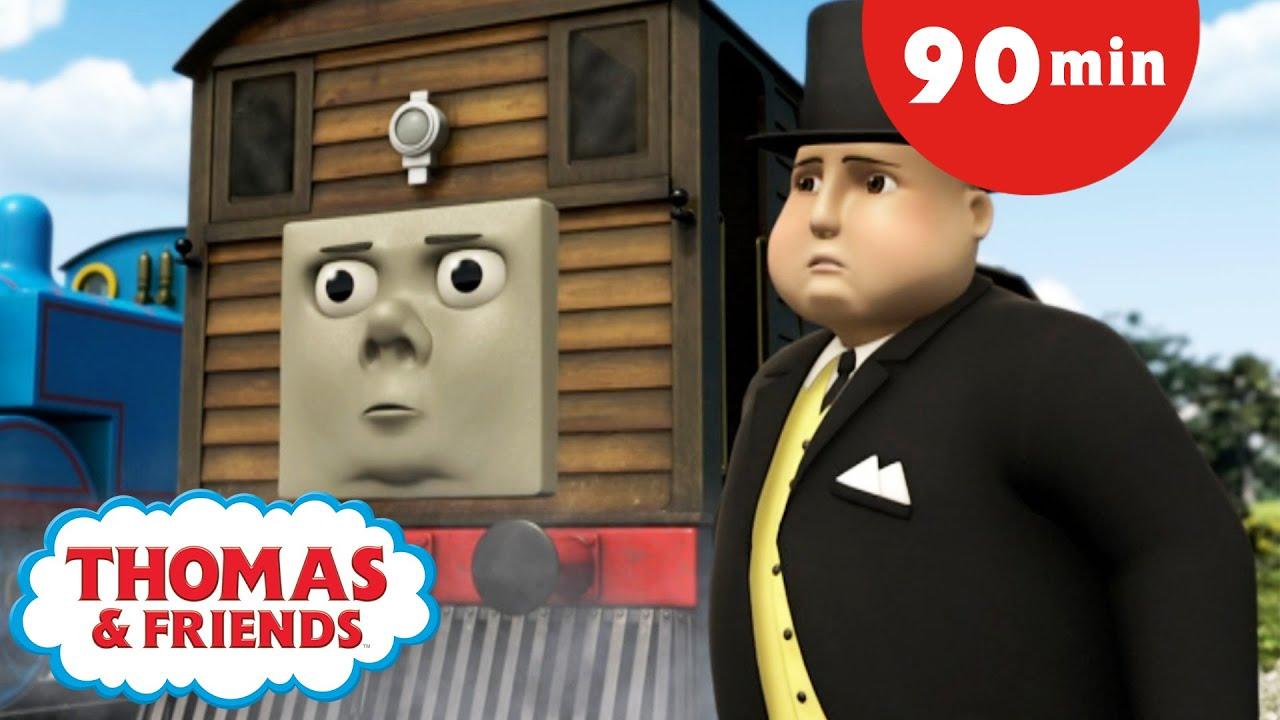 Thomas & Friends™ | 🚂 Toby's Whistle +More Season 13 🚂 | Thomas the Tank Engine | Kids Cartoon