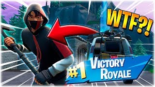 WINS WITHOUT BEING ABLE TO SHOOT?!? * BUG * (MEGA FUN)-English Fortnite