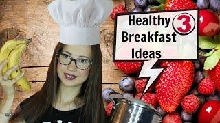 3 Идеи за закуска за училище, лекции или работа #Backtoschool / 3 Healthy Breakfast Ideas for School