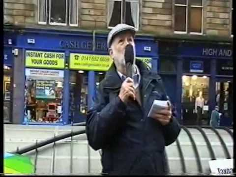 Culture and Sport Glasgow Protest Demo and Petition Launch - Part 3
