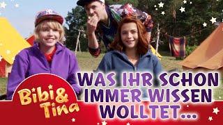 Bibi & Tina  - Lina Larissa Strahl und Lisa Marie Koroll beantworten Fanfragen