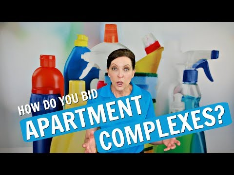 How To Bid Apartment Complexes - House Cleaning