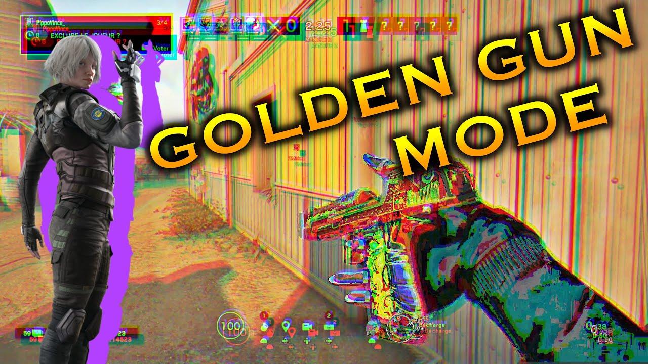 FULL TEAM EN MODE GOLDEN GUN