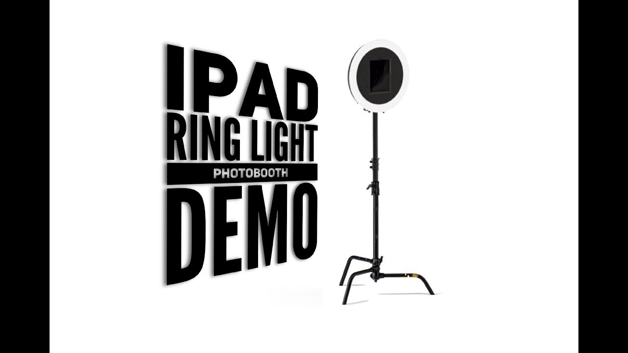 Ring Light Photo Booth Demo