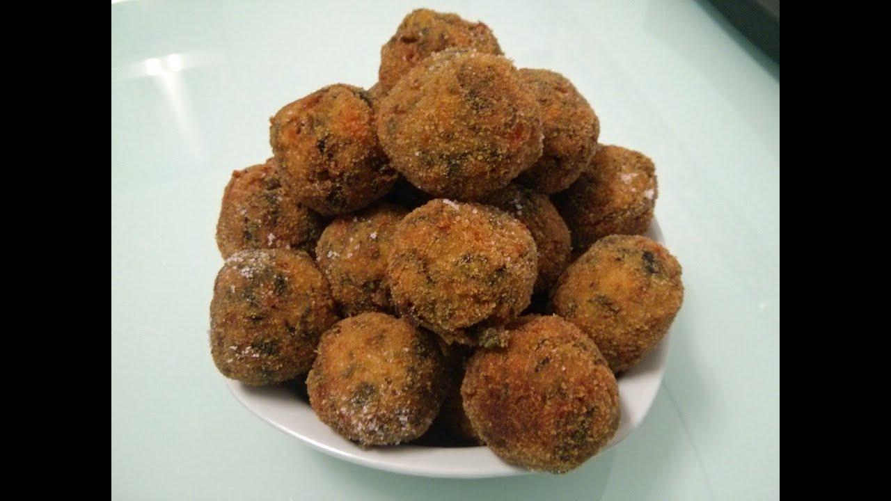 Albondigas fritas de verduras doovi - Albondigas de verdura ...