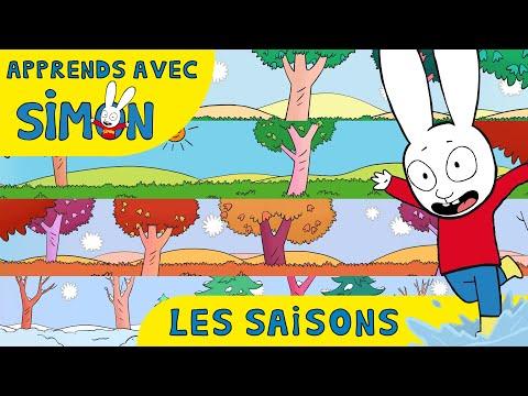 Simon - APPRENDS les SAISONS avec Simon HD [Officiel] Dessin animé pour enfants