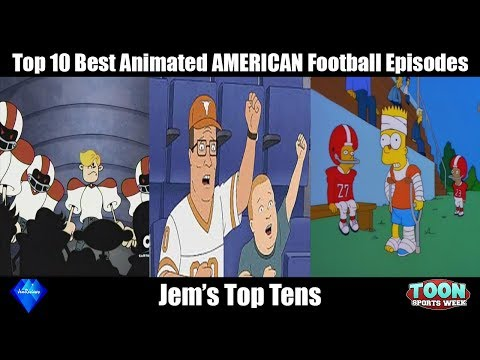 Top 10 Best AMERICAN Football Episodes