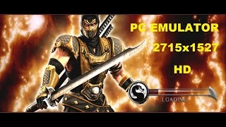 Mortal Kombat Deception - PC Emulator 2K (HD)