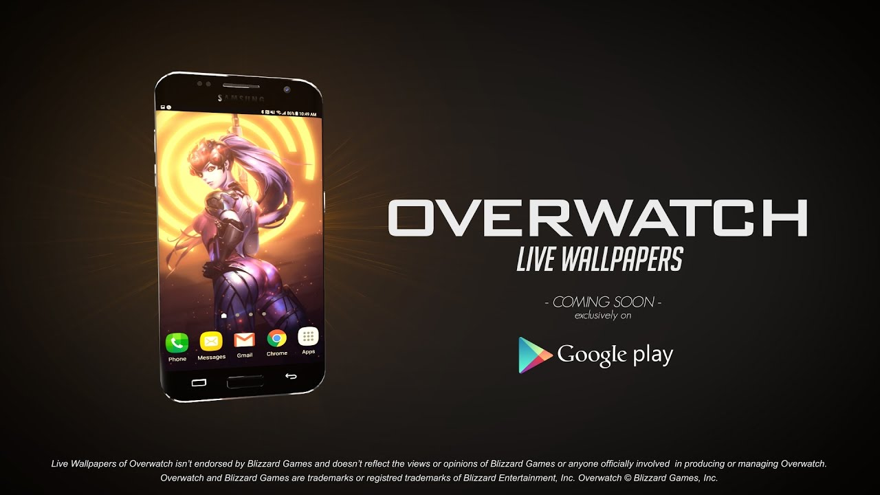 Live Wallpapers of Overwatch | Teaser - YouTube