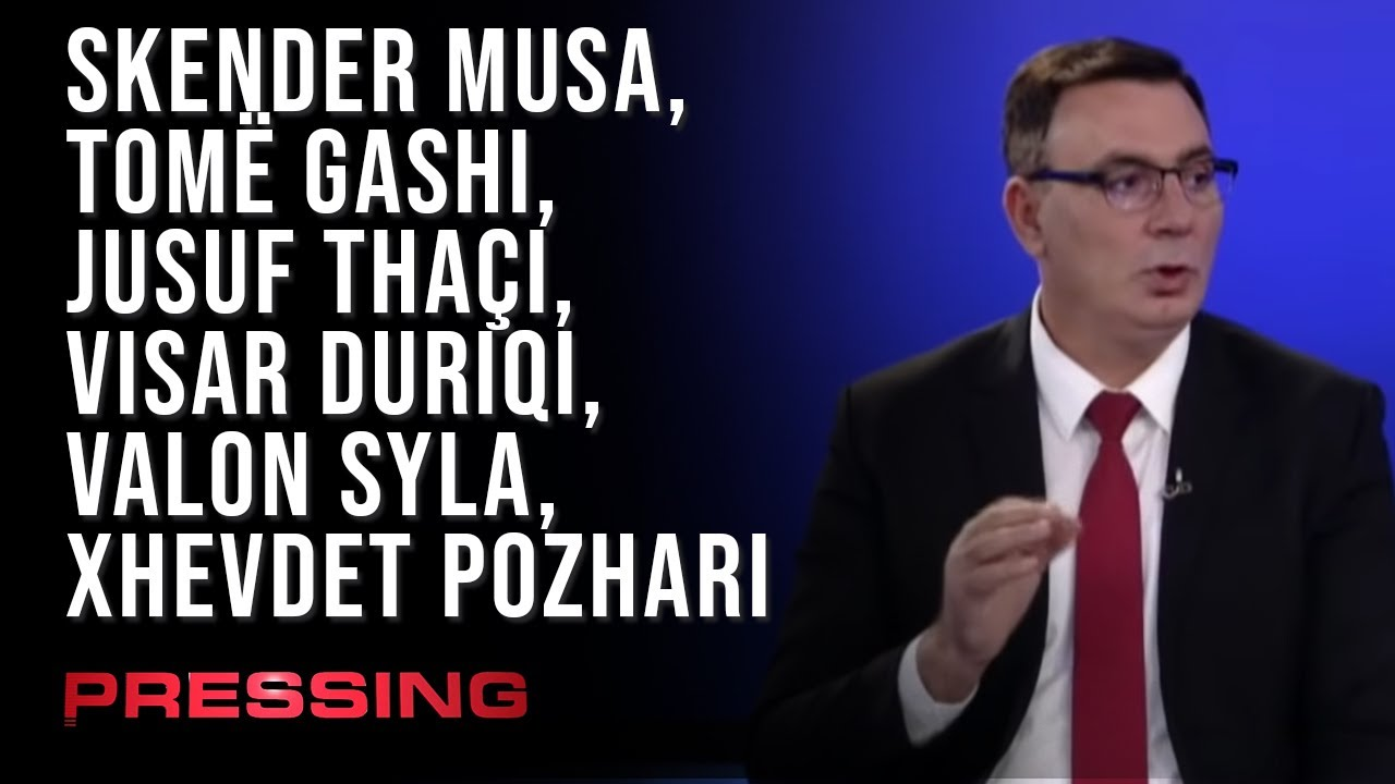 PRESSING Skender Musa, Tomë Gashi, Jusuf Thaçi, Visar Duriqi, Valon Syla, Xhevdet Pozhari 21.04.2021