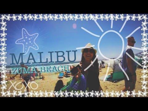 Beach trip to Malibu