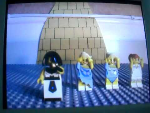 Horrible Histories Cleopatra Song (LEGO Animation)