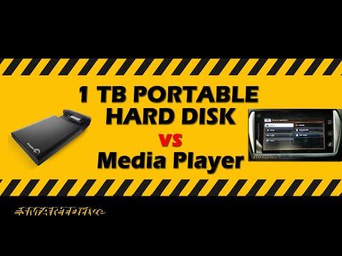 Suzuki media player Vs 1TB Hard Disk