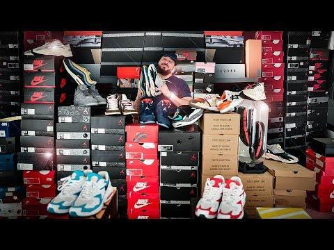 j'ai-sorti-toute-ma-collection-de-sneakers-👟