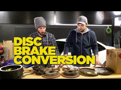 Drum to Disc Brake Conversion DIY