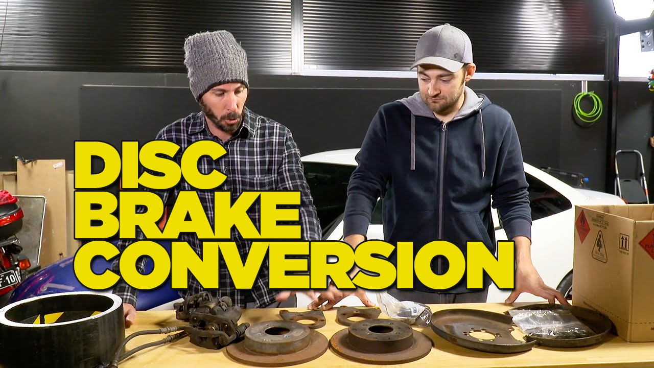 Drum To Disc Brake Conversion Diy Youtube Wiring Diagram For Opel Astra 1997