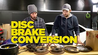 Drum to Disc Brake Conversion DIY