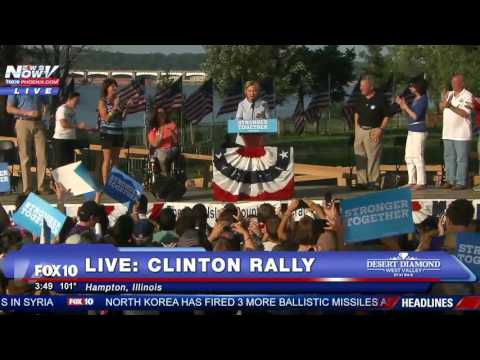 FULL VIDEO: Hillary Clinton Speaks at Rally After Several COUGHING FITS That Day - FNN