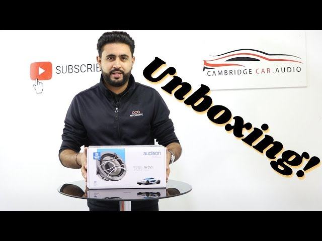 Unboxing Audison TH 3.0 II Voce Midrange | Cambridge Car Audio